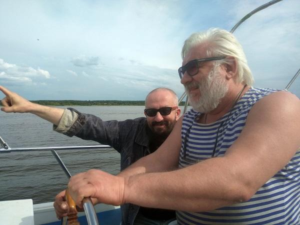 капитан и художник Александр ДЁМИН отдал швартовые! Праздник в море!