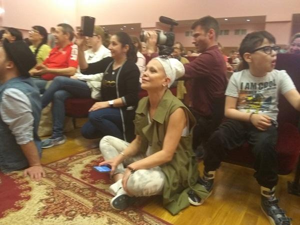 Марина Черкунова на благотворительном концерте к Дню Защиты Детей