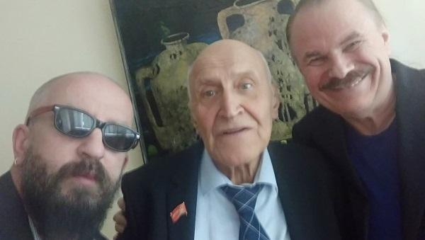 ДЕЛОВЫЕ ЛЮДИ поздравили Николая Николаевича Дроздова с 80-ти летием