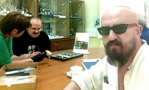 Пресняков-старший и Владимир Ферапонтов в гостях у ПроТайм РУС