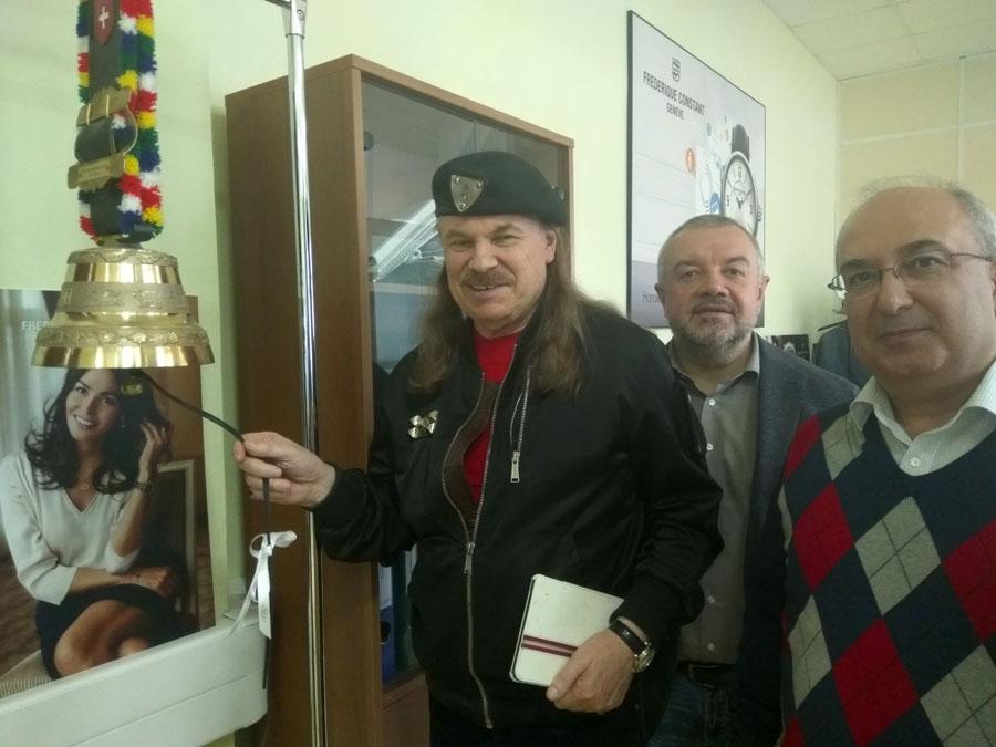 Клуб ДЕЛОВЫЕ ЛЮДИ в гостях у компании ProTime!