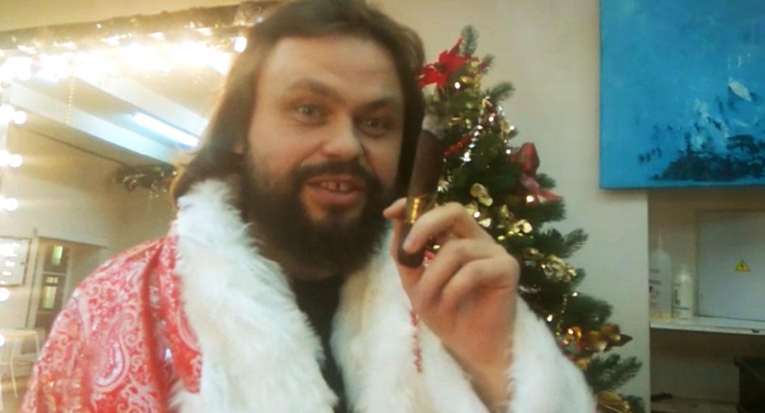 Андрей Табунов — директор сигарного клуба OTOKOMAE, видео поздравление С НОВЫМ ГОДОМ!