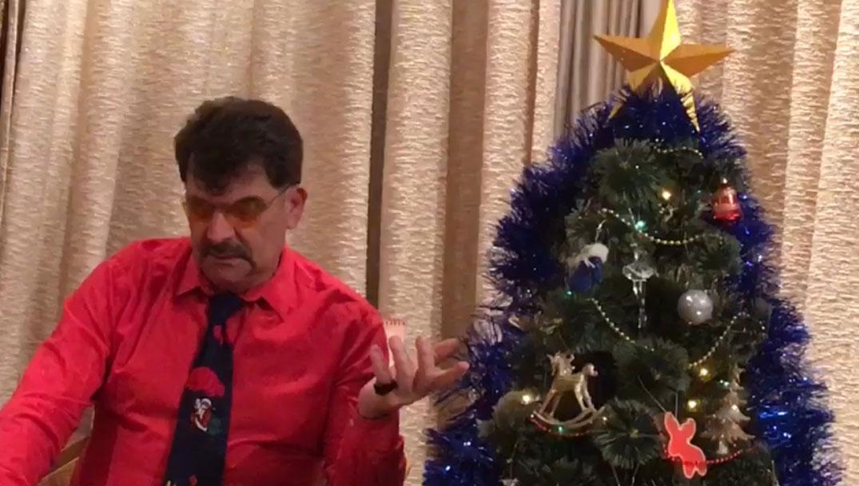 поэт Владимир Вишневский поздравляет Вас с НОВЫМ ГОДОМ! Видео обращение!