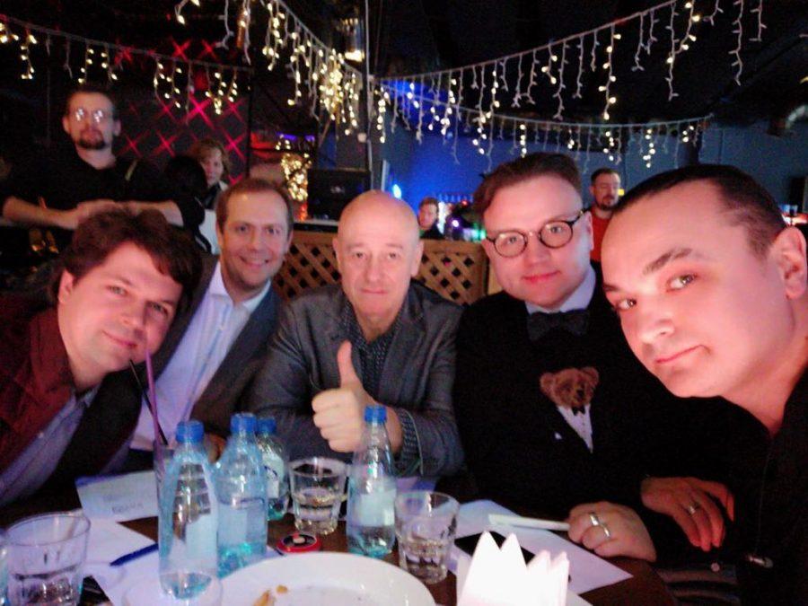 Игорь Сандлер в жюри Big Piano Battle в клубе Live stars