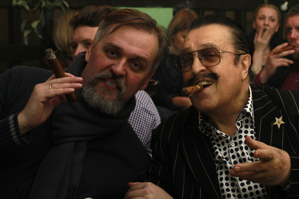 Новогодний вечер в Московском сигарном клубе OTOKOMAE