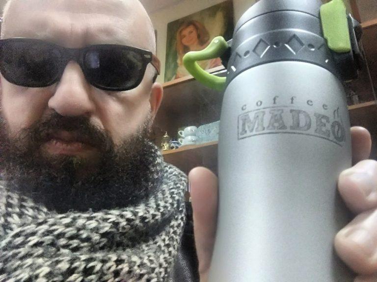 почему продюсер Владимир Ферапонтов пьёт только кофе MADEO?