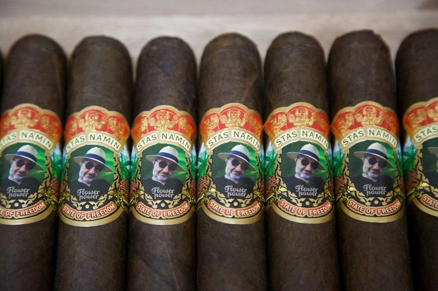именные сигары для СТАСА НАМИНА от фабрики SIGLO DE ORO