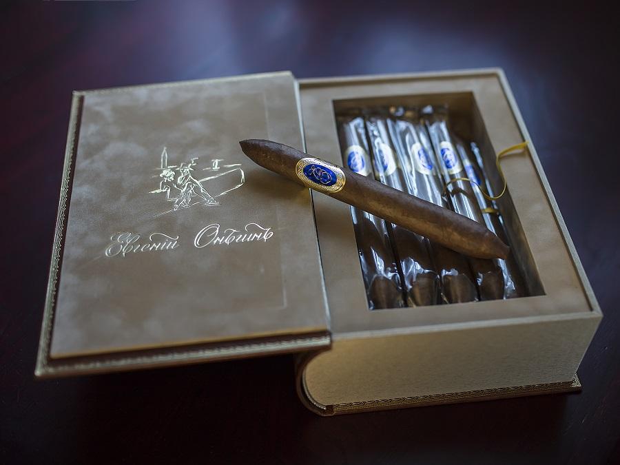 московская сигарная фабрика SIGLO DE ORO в день рождения Евгения Онегина