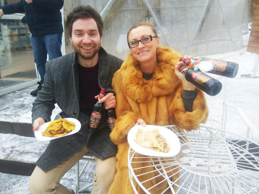 МАСЛЕНИЦА в Мелиссе Флеминг прошла под пиво PRAGA