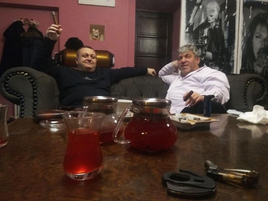 Кубинско-Американская дружба в OTOKOMAE! Сигары и OTOKOMAE объединяют!