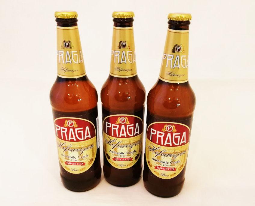 Пиво RRAGA не только вкусно, но и полезно! Praga Hefeweizen (Пиво Прага Пшеничное нефильтрованное)