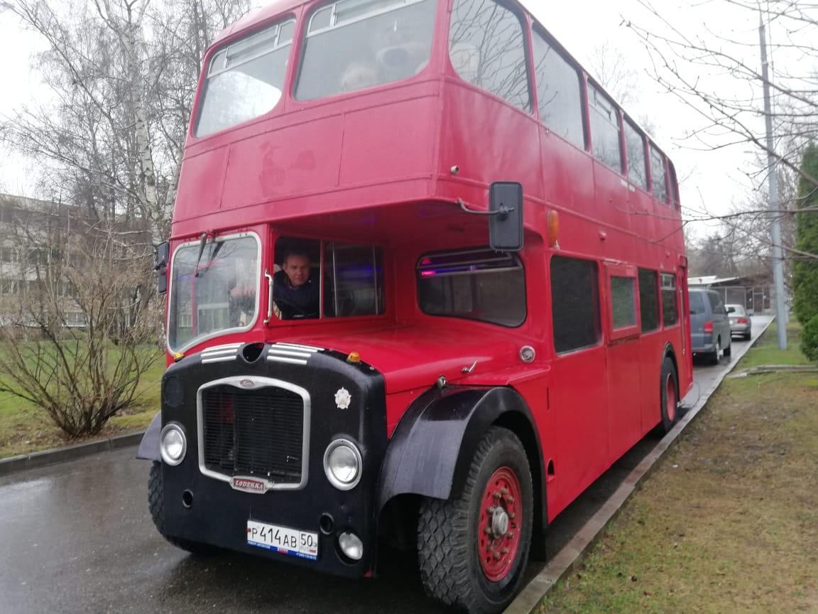Автобус ждёт Вас) Английский автобус для Ваших мероприятий в Сокольниках, Москве и не только