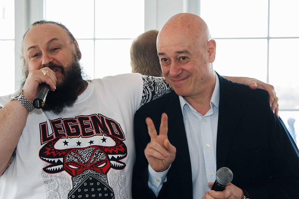 продюсер Игорь Сандлер посетил весенний слёт КЛУБА ДЕЛОВЫЕ ЛЮДИ в Don David