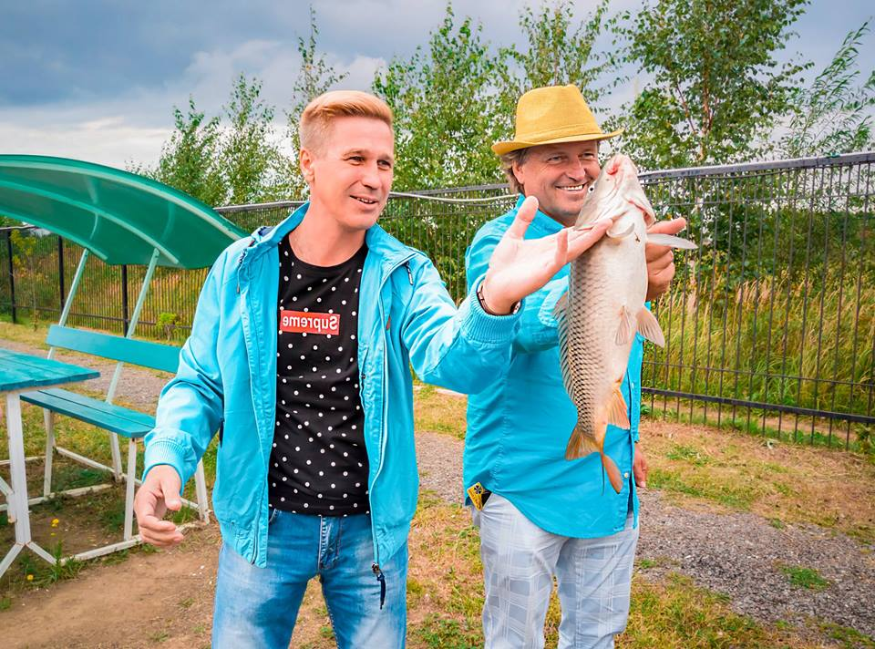Очень Деловая рыбалка на озере Понти фото 2
