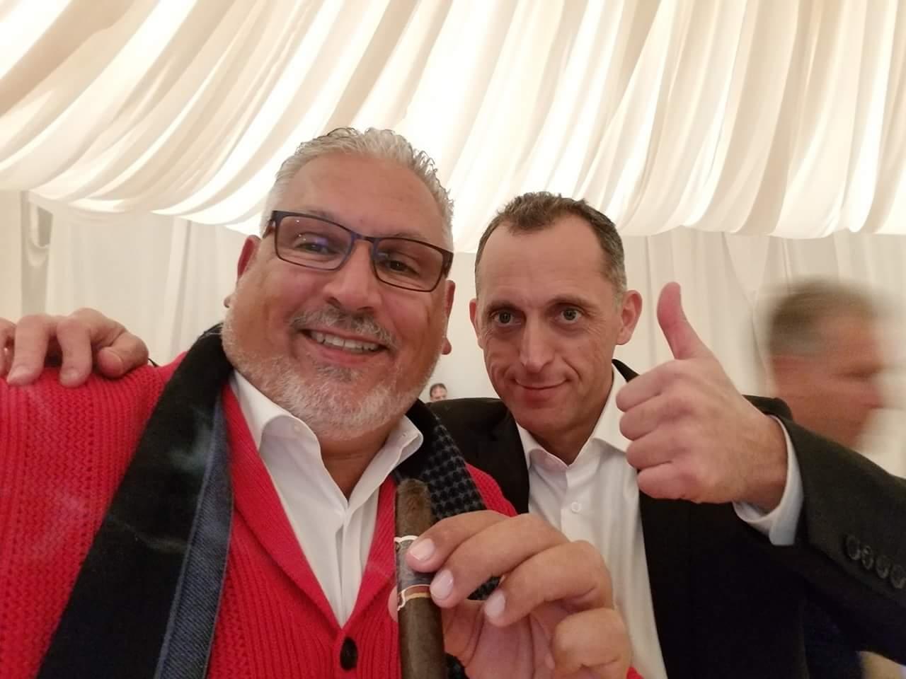 GEORGE SOSA в Москве! День первый! Гуру сигарного бизнеса! Незабываемая встреча с легендой мирового уровня! 1 октября 2018 года!