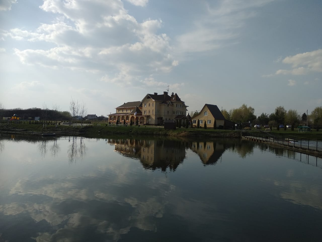 фотоотчёт о ОЧЕНЬ ДЕЛОВОЙ РЫБАЛКЕ на озере ПОНТИ