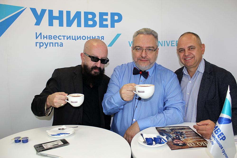 Видео-интервью продюсера Ферапонтова для инвестиционной группы УНИВЕР