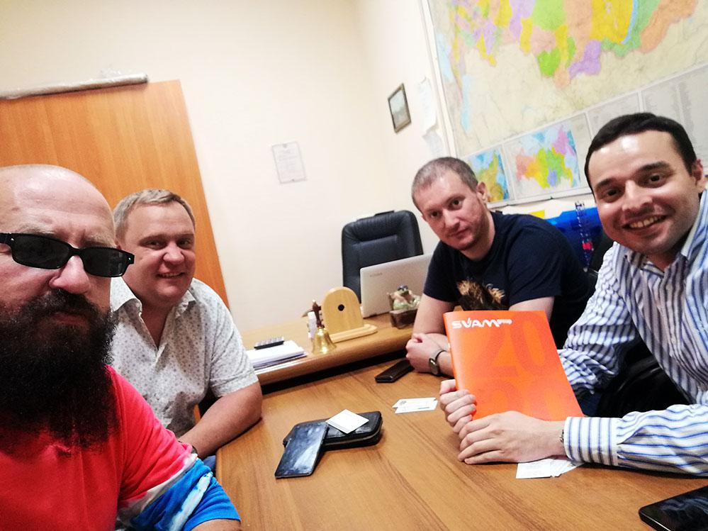 пивная компания SVAM group! Добро пожаловать в Очень Деловые Люди!