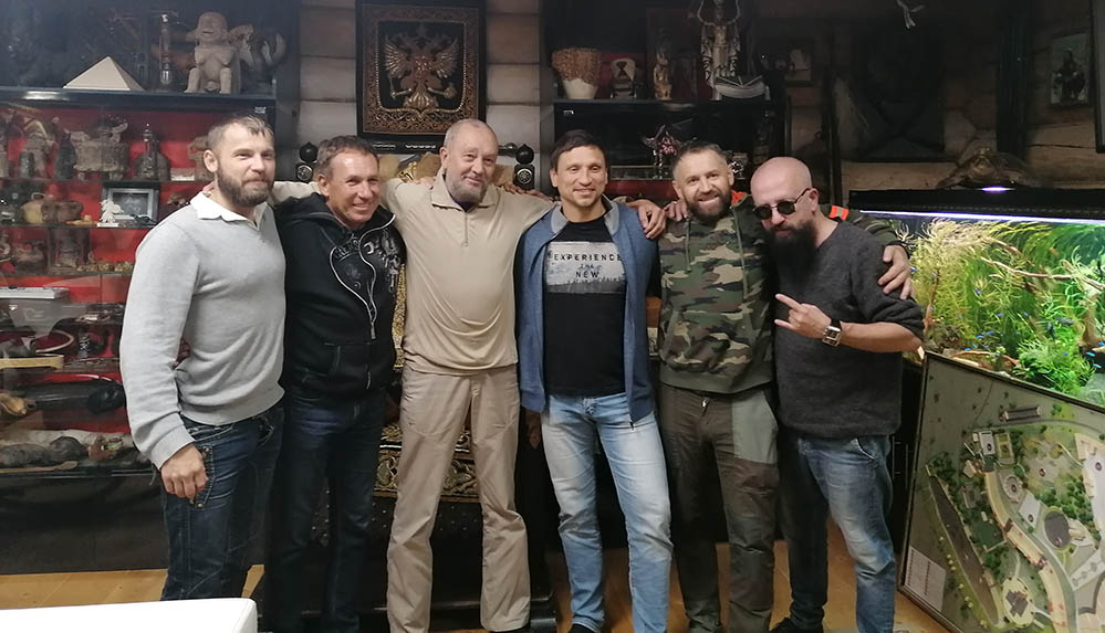 В гостях у Виталия Владимировича Сундакова