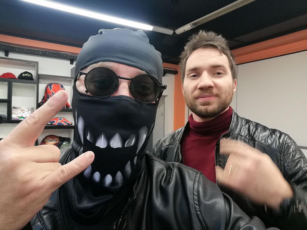 Там где делают маски или сотрудничество с VSEMAYKI.RU
