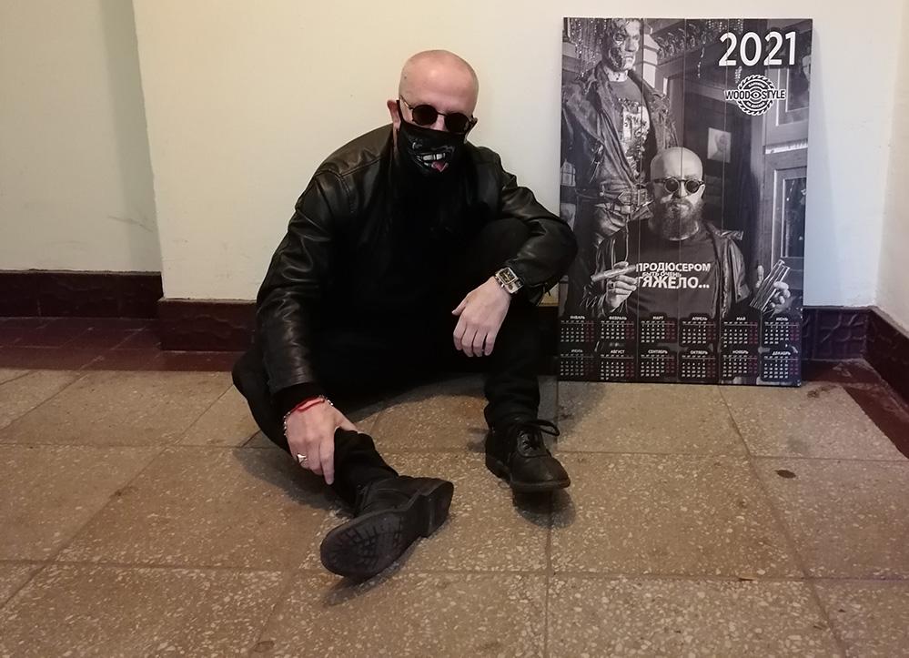 календарь-2021 на досках это оригинально