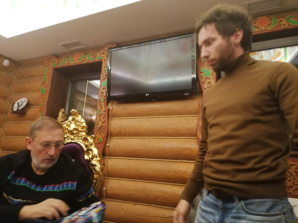 Сложные переговоры в парк-отеле Орловский!