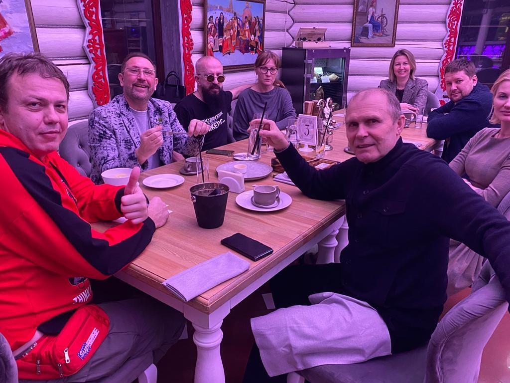 Гастрономические Встречи в ресторане ПетRUшка в Парк-Отеле ОРЛОВСКИЙ становятся регулярными