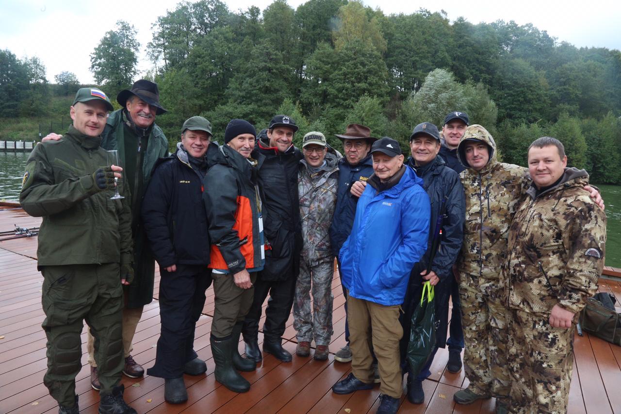 Осенняя рыбалка в парк-отеле ОРЛОВСКИЙ