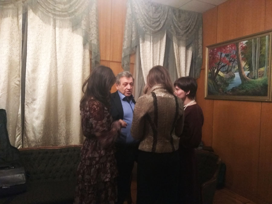 ЕРАЛАШ в посольстве КУБЫ / или Бориса Грачевского опять пригласили на Кубу