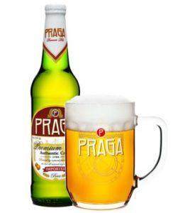 пиво PRAGA из Чехии