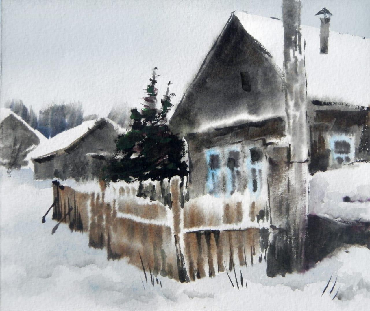 картины художника Владимира Горячева