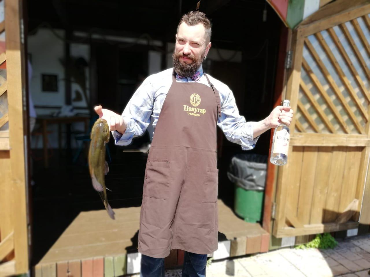 мероприятие КЛУБА ОХОТА С КУЗЕНКОВЫМ показало, что после рюмки ПОЛУГАРА рыба клюёт лучше!
