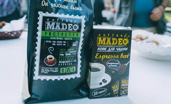 MADEO и его кофе на ЮБИЛЕЕ нашего клуба