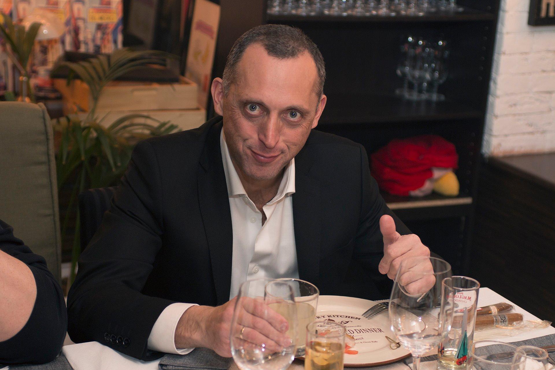 Игорь Глозман — член совета клуба ОЧЕНЬ ДЕЛОВЫЕ ЛЮДИ