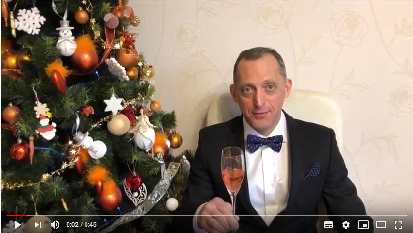 салон СИГАРЫ И ВИСКИ  и Игорь Глозман — поздравляет Вас с Новым Годом 2019!