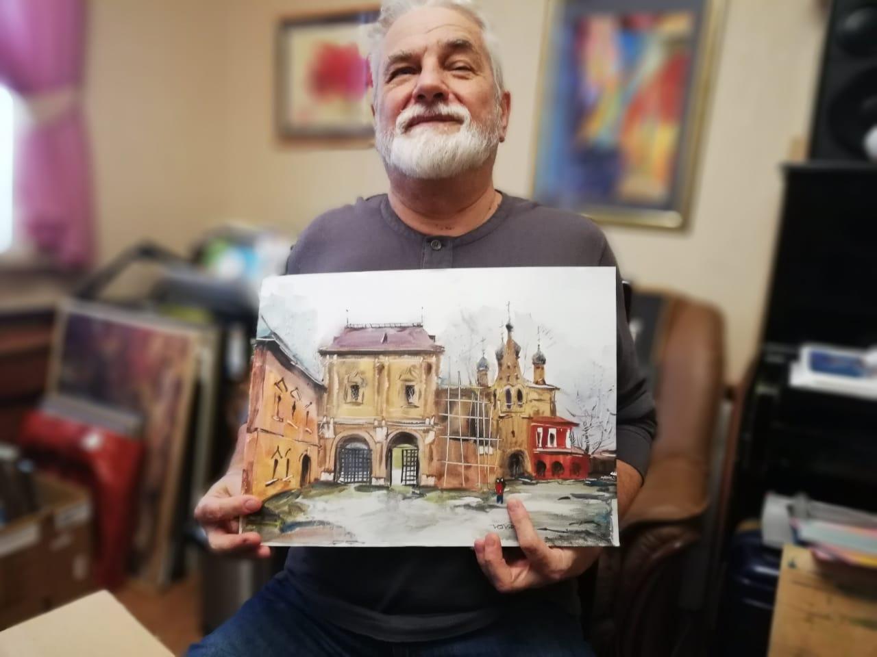 Владимир Горячев — художник и почётный член клуба ОЧЕНЬ ДЕЛОВЫЕ ЛЮДИ