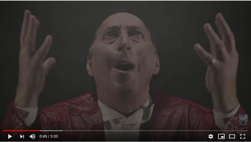 Евгений Герчаков — Мюзикл «Скрипка Паганини» — Ария Папы Римского (Продолжение)