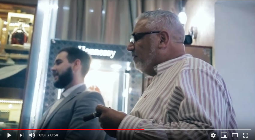 ВИДЕО — СИГАРЫ И ВИСКИ — встреча с Джорджем Сосо в «Сигарах и Виски»