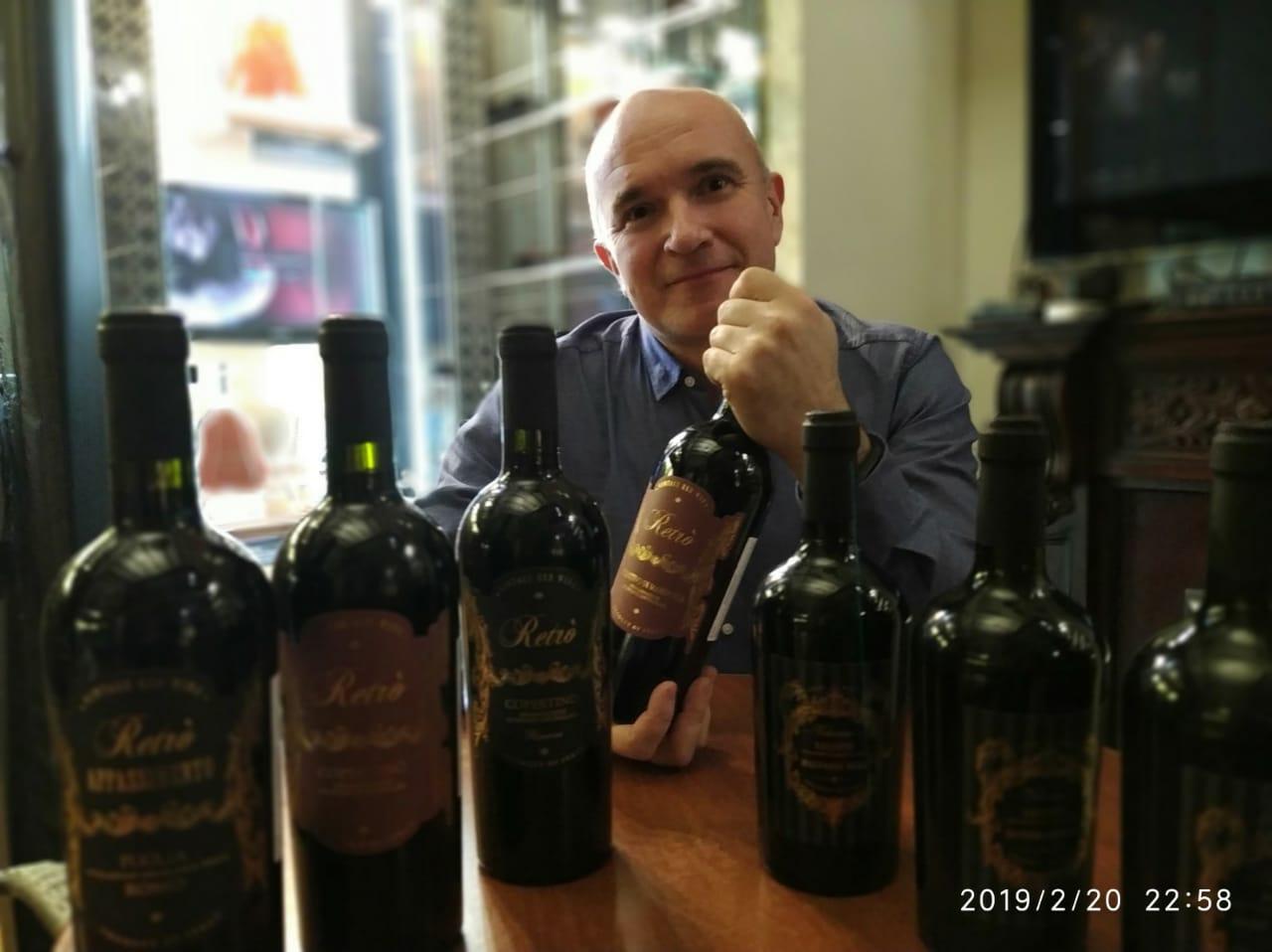 посетители салона СИГАРЫ И ВИСКИ под итальянские вина от BRAVO TRADE поздравили друг-друга с праздником …