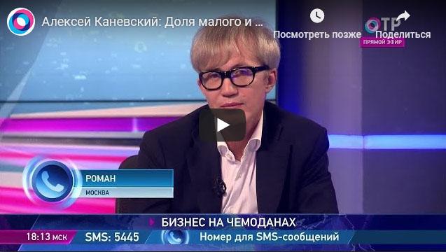 Алексей Каневский телеинтервью о российском бизнесе