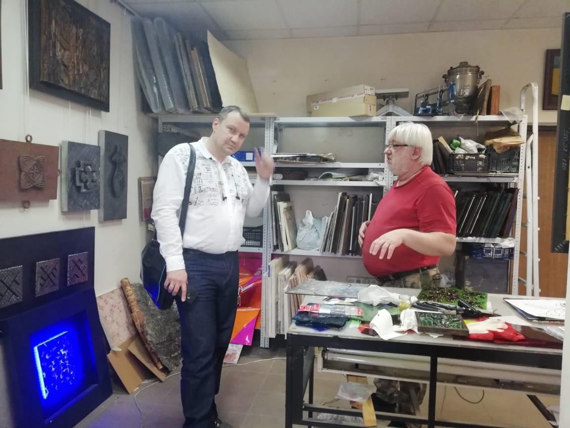Переговоры с ГК «КАМ» в студии  у Александра Дёмина
