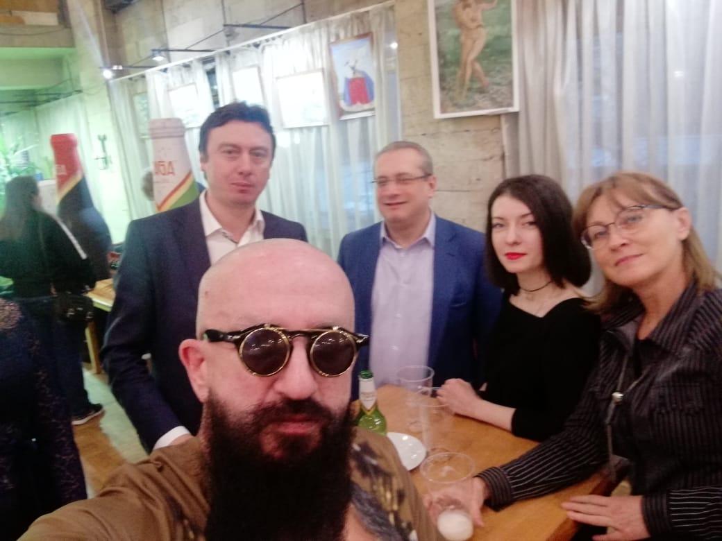 20 марта — юбилей Бориса Грачевского в Доме Кино. И конечно же AFTER PARTY…