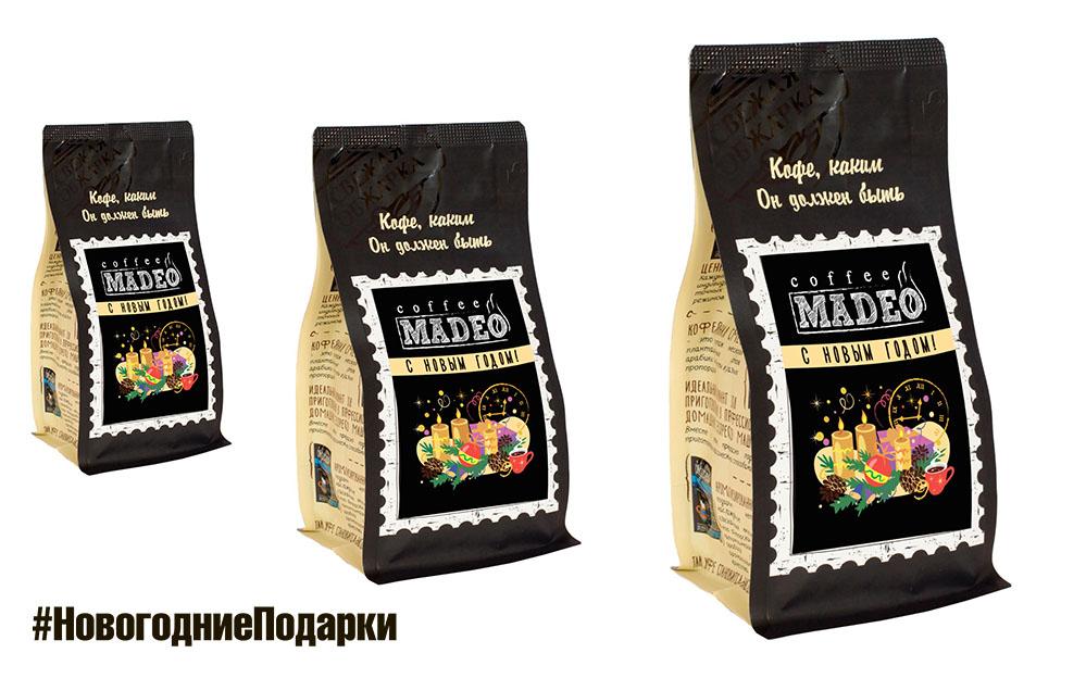 кофе MADEO для Нового года