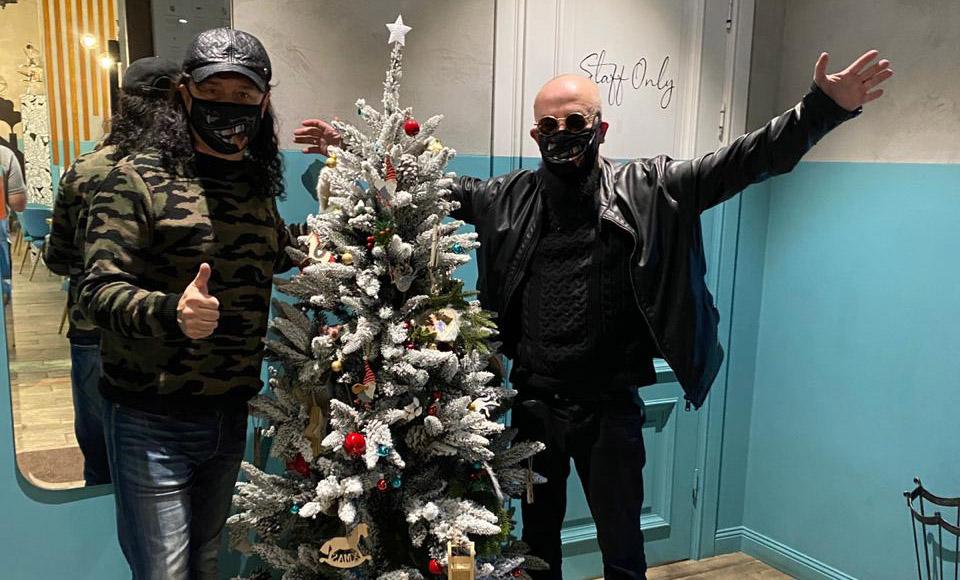 С Новым годом от Андрея Алексина и Владимира Ферапонтова