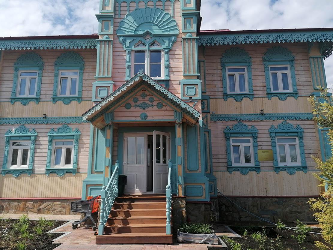 дом мещанина Поляшова — новый корпус в парке-отеле ОРЛОВСКИЙ